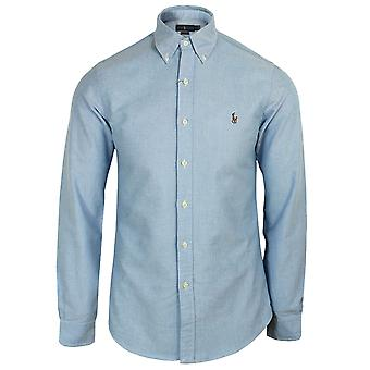Ralph lauren men's bsr blue oxford shirt