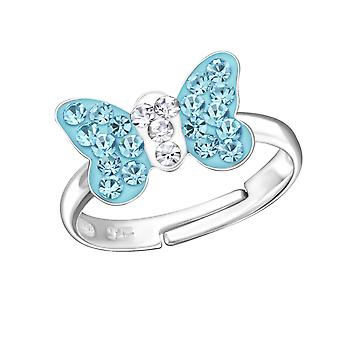 Butterfly - 925 Sterling Silver Rings - W22262x