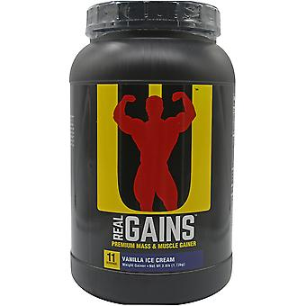 Universal Nutrition Real Gains - 11 Servings - Vanilla Ice Cream