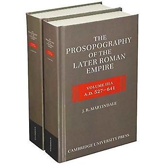 J. R. Martindalen myöhemmän Rooman valtakunnan prosopografia 2 osa Hardback Set