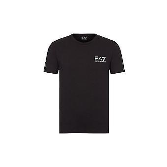 EA7 Men's Black T-Shirt