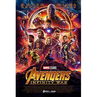 Avengers Infinity War Original Movie Poster Double Sided Final Style