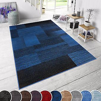 Carpet Boss Design Short floral rug Marble plaid mottled plaid plaid plaid panels optic