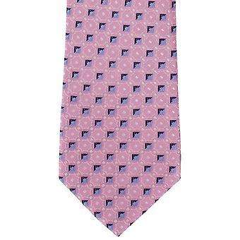Michelsons London verbindet ordentlich Seidenkrawatte - Pink