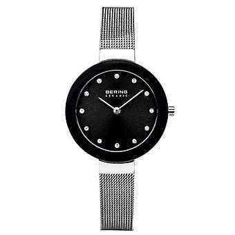 Bering reloj de mujer reloj de pulsera de cerámica delgada - 11429-002 banda de malla