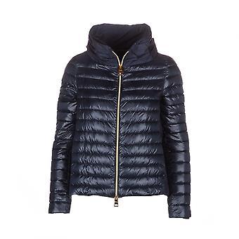 Herno Pi0927d120179200 Women's Blue Nylon Down Jacket