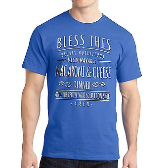Home Alone Bless Mac & Cheese Dinner Men's Royal Blue T-shirt