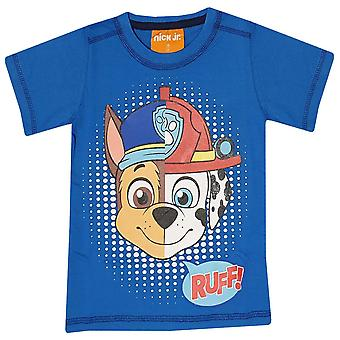 Paw patrouille jongens t-shirt chase marshall