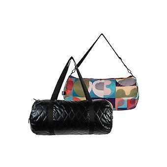 Loqi Women's Quilted Reversible Weekender Bag