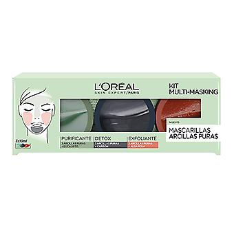 Cosmétiques de femmes-apos;s Cosmetics Set L-apos;Oreal Make Up (10 ml)
