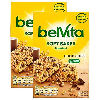 10 Pc's 50g Belvita Soft Bakt Chocolate Chip Biscuit Bar Breakfast Snack