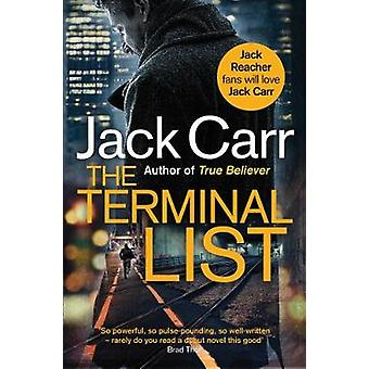The Terminal List - A Thriller by Jack Carr - 9781982152895 Book