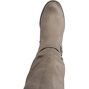 WHITE MOUNTAIN Shoes Liona Women's Boot, DK.Taupe/Fabric, 7 M