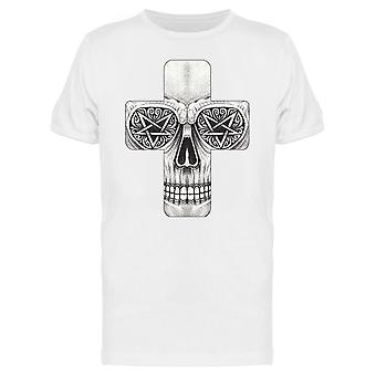 Skull Cross Tattoo Tee Men's -Image by Shutterstock