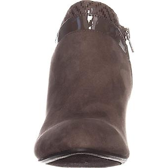 Karen Scott Womens CAHLEB Fabric Almond Toe Ankle Fashion Boots