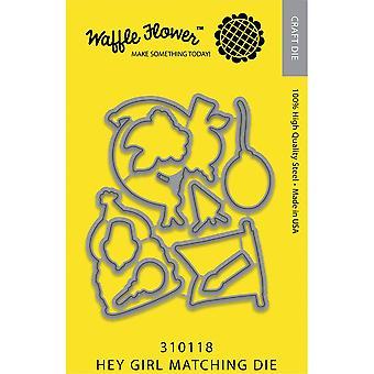 Waffle Flower Crafts Cutting Dies - Hey Girl