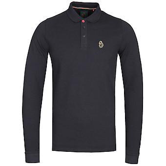 Luke 1977 Williams Long Sleeve Polo Shirt - Black