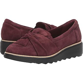 Clarks Womens Sharon Dasher Suede Closed Toe Loafers