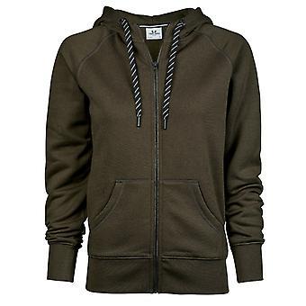 Tee Jays Womens/Ladies Fashion Zip Hoodie