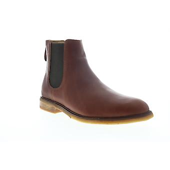 Clarks Clarkdale Gobi Mens Brown Leather High Top Slip Op Chelsea Boots