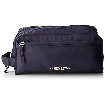 Bensimon-kosmetiikka laukku-sininen naisten päivä kytkin (Marine) 14x12x27cm (L x k p)