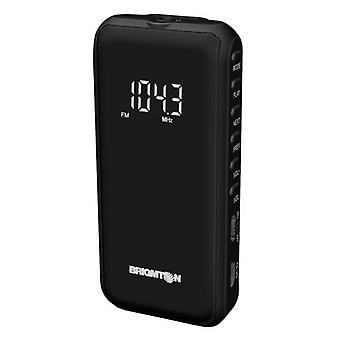 Radio digital portabil BRIGMTON BT-124-N Micro SD Negru