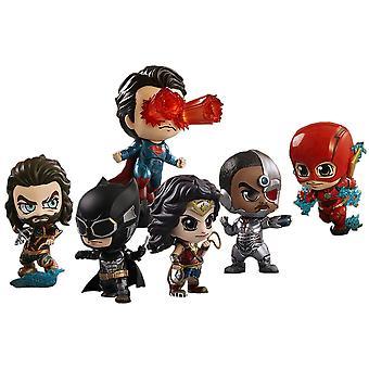 Justice League Movie Cosbaby Set