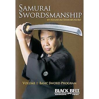 Vol. 1-Basic Sword Program [DVD] USA import