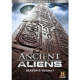Ancient Aliens: Sæson 5 Vol. 1 [DVD] USA importerer