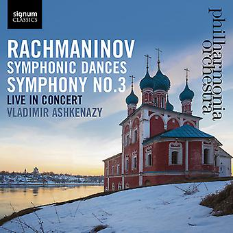 Rachmaninoff / Philharmonia Orchestra - Symphony 3 [CD] USA import