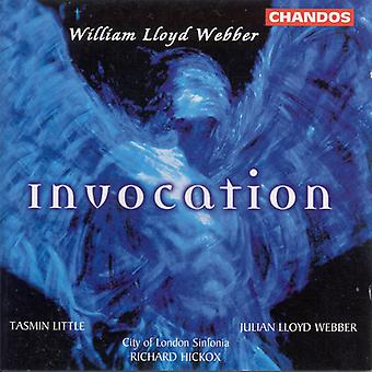 W.S. Lloyd Webber - Lloyd Webber: Invocation [CD] USA import