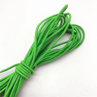 5yards 2mm Colorful High Quality Round Elastic Band Round Elastic Rope Rubber