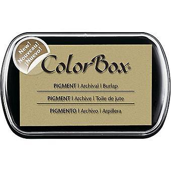 Clearsnap ColorBox Pigment Muste Täysikokoinen burlap
