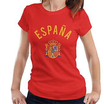 Toff Vintage Football Spain Women's T-Shirt