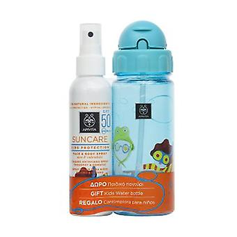 Spray Solar Niños SPF50 & Cantimplora de Regalo 2 unidades