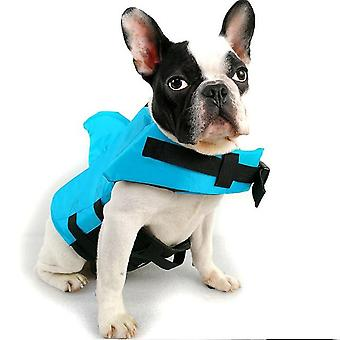 Pies Life Vest Summer Shark Pet Life Jacket Dog Clothes Dogs Stroje kąpielowe Zwierzęta Swimming Suit