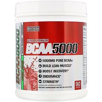 EVLution Nutrition, Ultra Premium BCAA5000, Cherry Limeade, 26.3 oz (747 g)