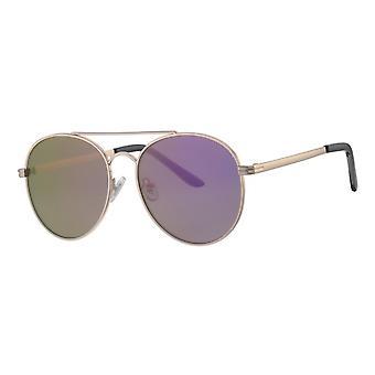Lunettes de soleil Dames Femme Kat. 3 argent/violet (L5129)