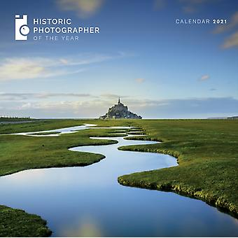 Historic Photographer of the Year Wall Calendar 2021 Art Calendar by Created by Flame Tree Studio