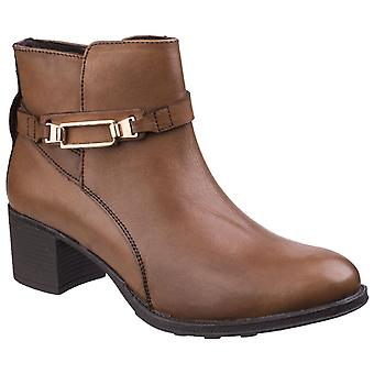 Fleet & Foster Women's Canterbury Leather Ankle Boot Brown 25550-42511