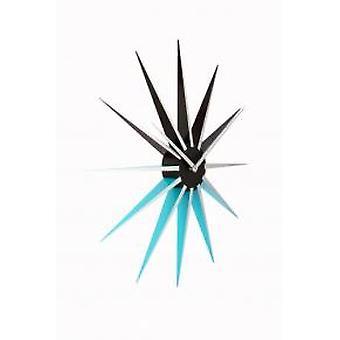 NeXtime 3051bl Nova [Ø50 cm, Zwart/ Blauw]