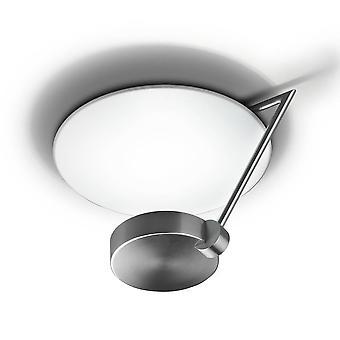 Leds-C4 GROK - 1 Licht Medium Semi Flush Deckenleuchte Satin Nickel
