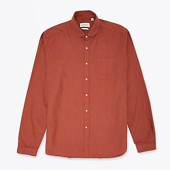 Oliver Spencer - Eton - Chemise col en coton - Orange