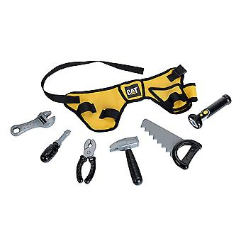 Theo Klein CAT Tool Belt with Accessories For Ages 3+ and Above