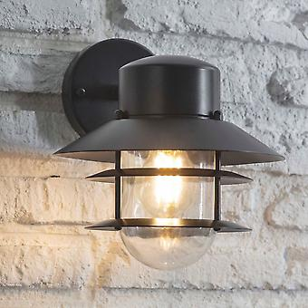 Garden Trading Strand Down Exterior Wall Light In Carbon