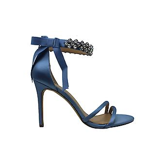 BADGLEY MISCHKA Womens Debra Fabric Open Toe Special Occasion Ankle Strap San ...