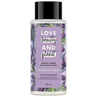 Love Beauty And Planet Argan Oil & Lavender Smooth & Serene Shampoo 400 Ml