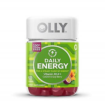 Gommes sans caféine olly Daily Energy