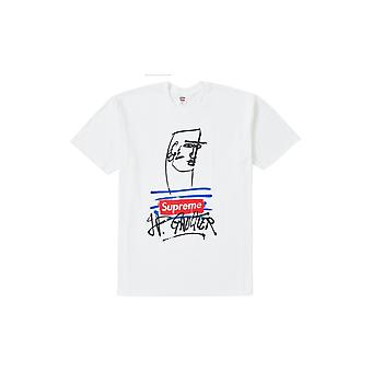 Supreme Jean Paul Gaultier Tee White - Clothing