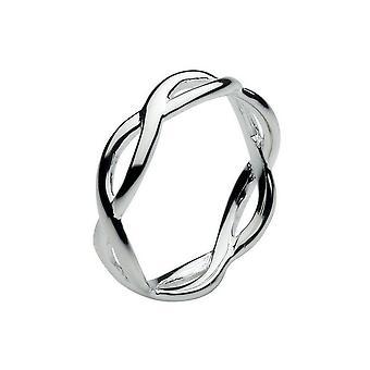 Dagg sterling silver öppen twist ring 2859HP